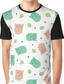 Cute cartoon owls Graphic T-Shirt