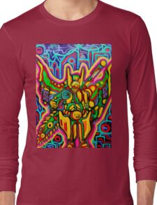 mecha liquid Android 14 Long Sleeve T-Shirt