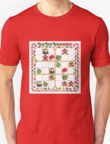 Hohohodoku Christmas puzzle T-Shirt