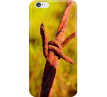 Fence Wire ver1 iPhone Case/Skin