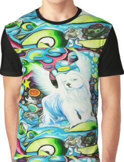 Angel Dog Buddy Graphic T-Shirt