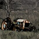 Derelict Tractor by sundawg7