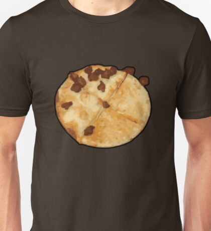 None Pizza with Left Beef Unisex T-Shirt