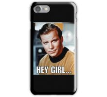 Hey girl... Sexy Kirk iPhone Case/Skin