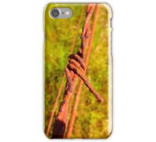 Fence Wire ver2 iPhone Case/Skin