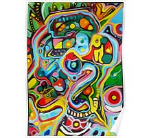 ABSTRACT STYLE ORIGINAL ART Poster