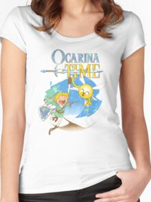 ocarina time Women's Fitted Scoop T-Shirt