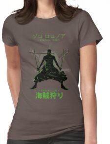 KAIZOKU GARI - Roronoa Zoro Womens Fitted T-Shirt