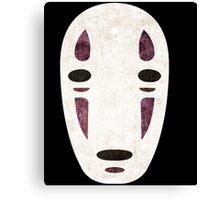No Face - Spirited Away Canvas Print