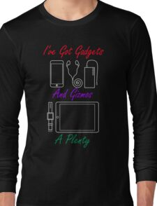 Smart Gadgets and Gizmos Long Sleeve T-Shirt