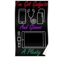 Smart Gadgets and Gizmos Poster