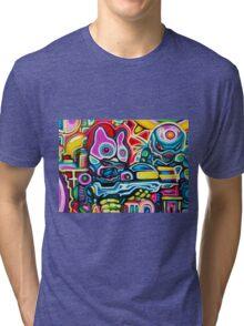 Mecha Squad  Tri-blend T-Shirt