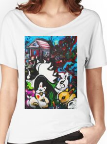 Animal Cabin Women's Relaxed Fit T-Shirt
