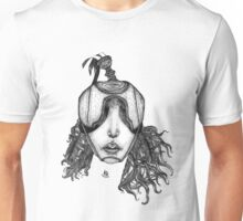 With Closed Eyes Unisex T-Shirt