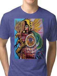 Aztec Soldier Tri-blend T-Shirt