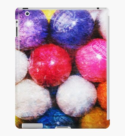 Grunge Gumballs Photographic Art iPad Case/Skin