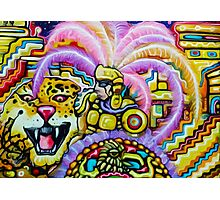 Aztec Jaguare Warrior By  Jose Juarez !!! Photographic Print