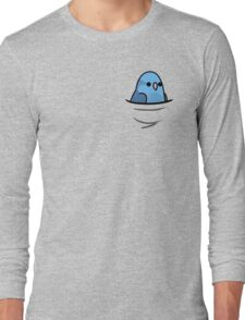 Too Many Birds! - Blue Pacific Parrotlet Long Sleeve T-Shirt