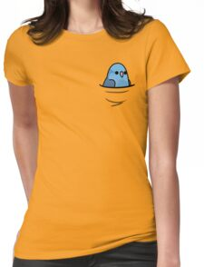 Too Many Birds! - Blue Pacific Parrotlet Womens Fitted T-Shirt