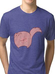Waffle Cat! Tri-blend T-Shirt