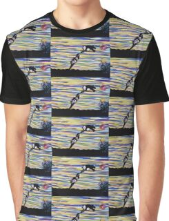 against the wind ORIGINAL ART by JOSE JUAREZ Graphic T-Shirt