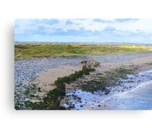 Seaton Carew Beach Photography Metal Print