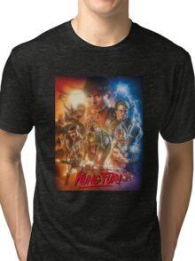 Kung Fury Fiction Film  Tri-blend T-Shirt
