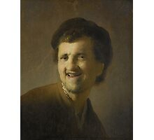 Bust of a Laughing Young Man, Rembrandt Harmensz. van Rijn,  Photographic Print