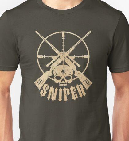 Sniper Skull Unisex T-Shirt