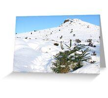 Winter Walk up Mither Tap O'Bennachie Greeting Card