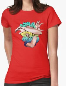 Wallflower (Social Disease Original) Womens Fitted T-Shirt