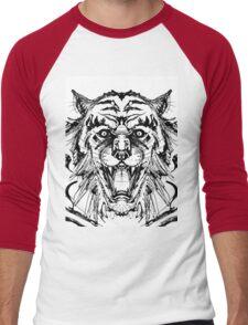 Weretiger Men's Baseball ¾ T-Shirt