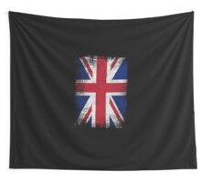 United Kingdom Flag Proud British Vintage Distressed Shirt Wall Tapestry