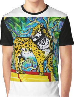 Aztec  Art Jaguare 2 Graphic T-Shirt