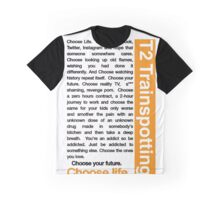 Trainspotting 2 - Choose Life Graphic T-Shirt