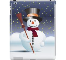 Snowman for Xmas iPad Case/Skin