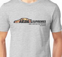 AE86 Supremes - OG press - White/Grey/Colours etc Unisex T-Shirt