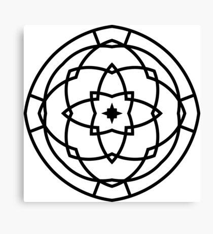 New in shop : Hand-drawn original romance Mandala Art  Canvas Print