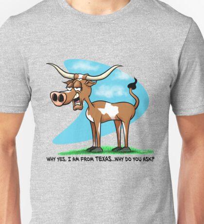 A True Texas Longhorn Unisex T-Shirt