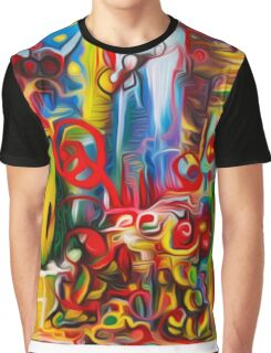 Abstract Fly World By JOSE JUAREZ !!  Graphic T-Shirt