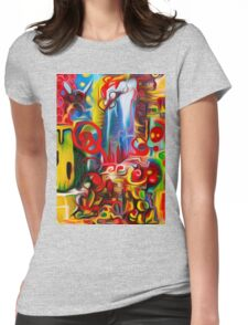 Abstract Fly World By JOSE JUAREZ !!  Womens Fitted T-Shirt