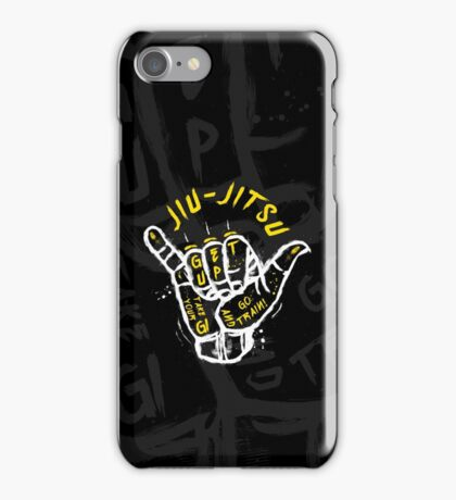 Jiu-jitsu. Go train! 2 iPhone Case/Skin
