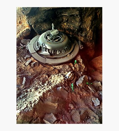 The Famous Roswell UFO Crash Photographic Print