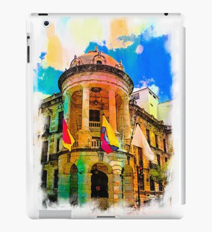 Silly Hall, Cuenca, Ecuador iPad Case/Skin