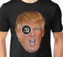 Trump One Eye on Russia Unisex T-Shirt
