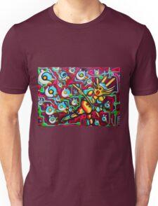 Bird Runner Original Fantasy Artwork By JOse Juarez Unisex T-Shirt
