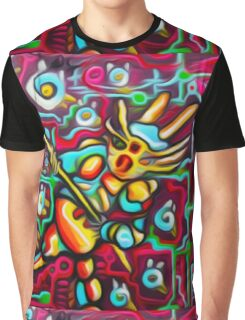 Bird Runner Original Fantasy Artwork By JOse Juarez Graphic T-Shirt