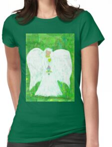 Angel of Nature Womens Fitted T-Shirt