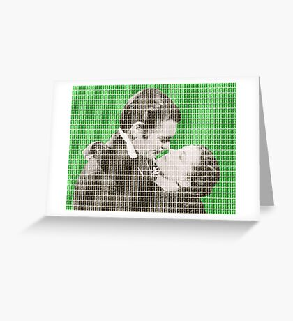 Gone With The Wind - Green Greeting Card