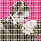 Gone With The Wind - Pink by Gary Hogben